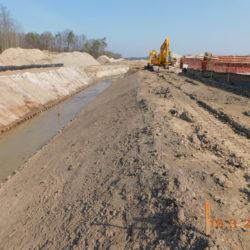 Przebudowa rzeki Biała, km 23+500