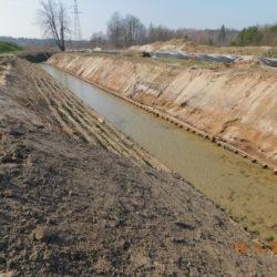 Przebudowa rzeki Biała, km 23+550