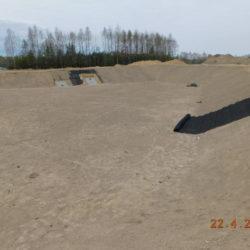 Zbiornik retencyjny ZR2, km 18+650