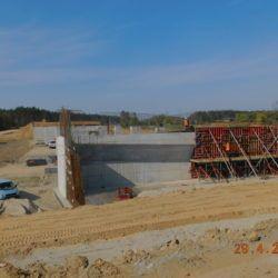 Deskowanie korpusu wiaduktu drogowego WS-25, km 23+950