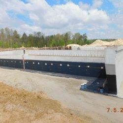 Korpus mostu drogowego MS-23, km 23+470