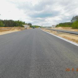 Trasa główna, elementy wiaduktu drogowego WD-22, km 22+100