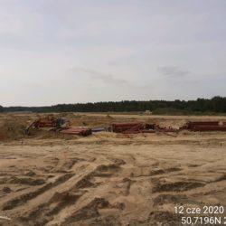Budowa sieci wodociągowej MOP Lewy km 21+050