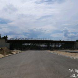 Montaż deskowania ustroju nośnego wiaduktu drogowego WD-22 w km 22+300