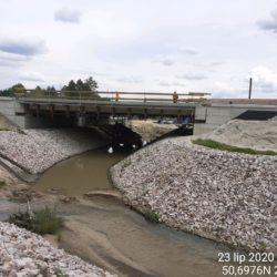 Most nad rzeką Białka w km 23+461