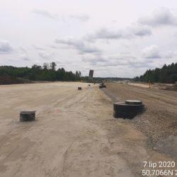 Podbudowa C5_6 w km 22+600 strona lewa