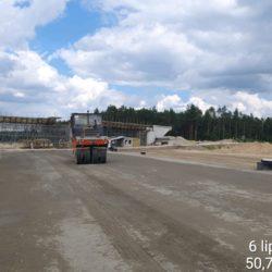 Podbudowa pomocnicza w km 22+375