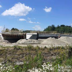 Wykonywanie zasypek przyczółka obiektu mostowego MS-23