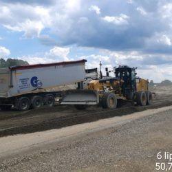 Podbudowa pomocnicza C5_6 w km 22+825