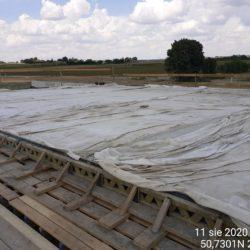 pielęgnacja nawierzchni betonowej płyty obiektu WS-20 km 18+536 jezdnia lewa
