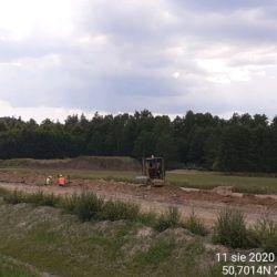 Wykonanie kanalizacji dla SZR km 22+800
