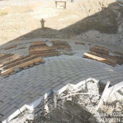 Umocnienie stożka przyczółka obiektu WS-25 23+979