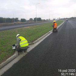 Wykonanie zabezpieczenia dylatacji km 21+000
