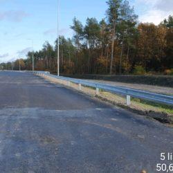 Bariery energochłonne - km 24+500