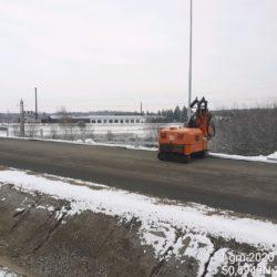Montaż barier drogowych 23+150
