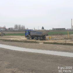 Transport materiału 18+600