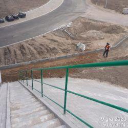 Wykonanie chodnika pod obiektem WS-25 23+979