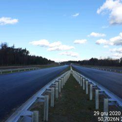 Ciąg główny w kierunku na Lublin 22+820