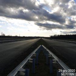 Ciąg główny w kierunku na Rzeszów 22+820