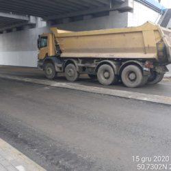 Transport materiału 18+536