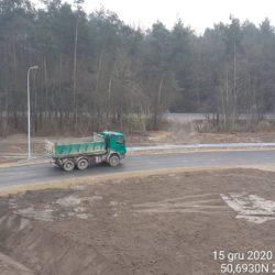 Transport materiału 24+050