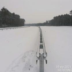 Widok na ciąg główny w kierunku na Lublin 22+200