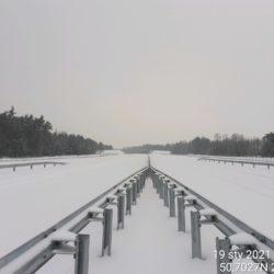 Widok na ciąg główny w kierunku na Lublin 22+820
