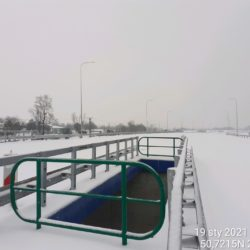 Widok na ciąg główny w kierunku na Rzeszów 20+380