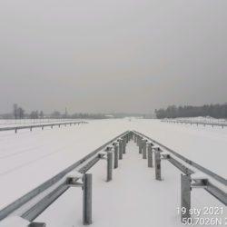 Widok na ciąg główny w kierunku na Rzeszów 22+820