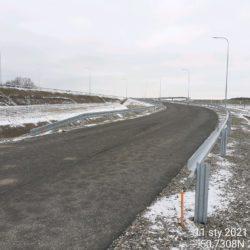 Wykonanie barier stalowych na L06L