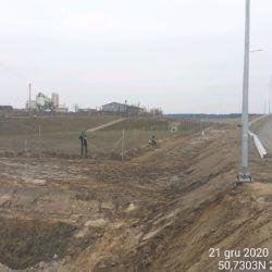 Wykonanie ogrodzenia zbiornika ZR-1 18+600