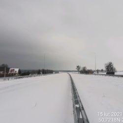 Ciąg główny w kierunku na Lublin 20+330