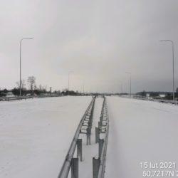 Ciąg główny w kierunku na Rzeszów 20+330