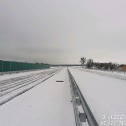 Widok na ciąg główny w kierunku na Lublin 20+200