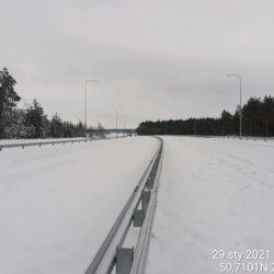 Widok na ciąg główny w kierunku na Lublin 21+900