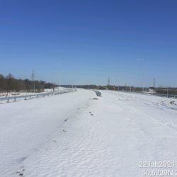 Widok na ciąg główny w kierunku na Lublin 23+930