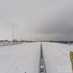 Widok na ciąg główny w kierunku na Rzeszów 18+150