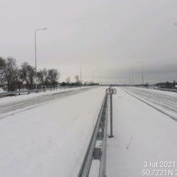 Widok na ciąg główny w kierunku na Rzeszów 20+200