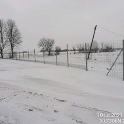 Wykonanie ogrodzenia w obrębie obiektu WS-20 18+536
