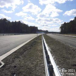 Ciąg główny w kierunku Rzeszowa 21+900