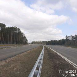 Ciąg główny w kierunku na Lublin 22+090