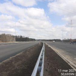 Ciąg główny w kierunku na Lublin 23+650