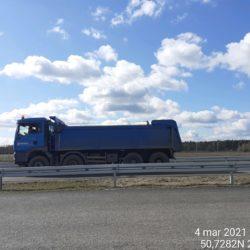 Transport materiału 18+900