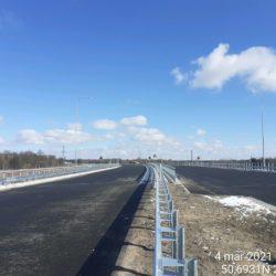 Wykonanie barier stalowych na dojeździe do obiektu WS-25 23+979