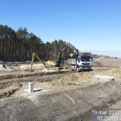 Wykonanie zbiornika ZR-3 21+500