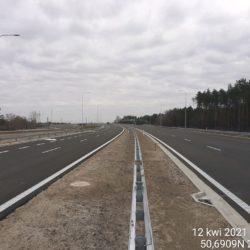 Ciąg główny w kierunku Lublin 24+500