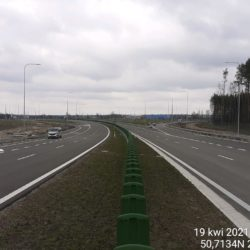 Ciąg główny w kierunku Lublina 21+500