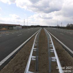 Ciąg główny w kierunku Rzeszów 23+400