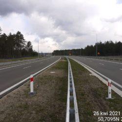 Ciąg główny w kierunku na Lublin 21+900