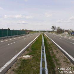 Ciąg główny w kierunku na Lublin 20+220